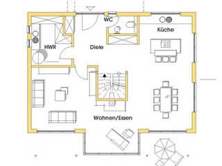 modern  oleh Dammann-Haus GmbH, Modern