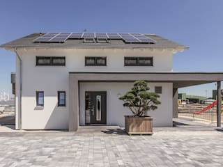 neues Musterhaus Simmern: moderne Häuser von massa haus GmbH