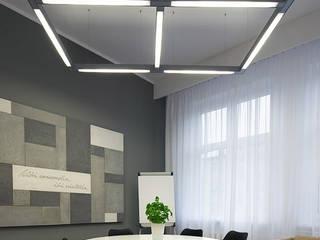 Biuro Mediatora Nowoczesne domowe biuro i gabinet od musk collective design Nowoczesny