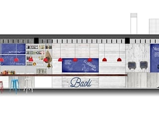 Restaurante Baolí. Marina Real 3 M ARQUITECTURA Salones de estilo moderno