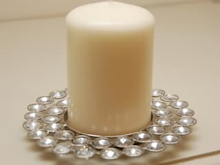 Adventino Jewelled Pillar Candle Plate: classic  by Adventino, Classic