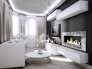 Living room by AFTER SPACE, Minimalist