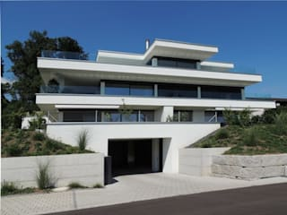 3 Familienhaus, Birchwil: moderne Häuser von WAP Wagner Architekten + Partner AG