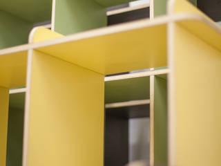 Steckregale:   von Daniel Gaspers Möbeldesign