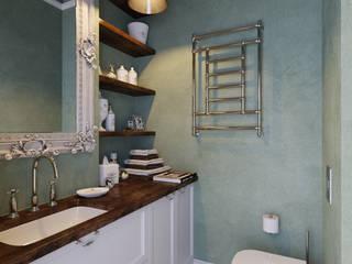 Projekty,  Łazienka zaprojektowane przez Aiya Design