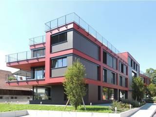 Wohn- Geschäftshaus, Bassersdorf:  Häuser von WAP Wagner Architekten + Partner AG
