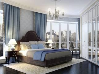 Dormitorios clásicos de Massimos / cтудия дизайна интерьера Clásico