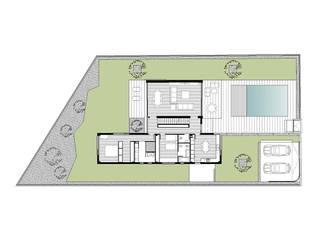 Casa Ari:  de estilo  de 3 M ARQUITECTURA
