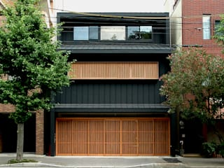 Asian style houses by Hiromu Nakanishi Architects Asian