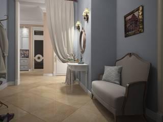 Дизайн проект квартиры в стиле эклектика Коридор, прихожая и лестница в эклектичном стиле от Альбина Романова Эклектичный