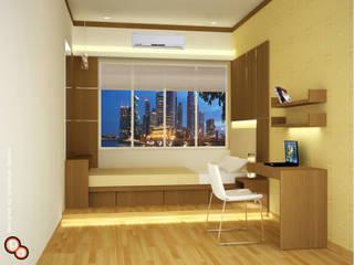 Bedroom Interiors - Small spaces:  Bedroom by Preetham  Interior Designer