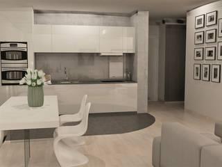 Modern dining room by Artenova Design Modern