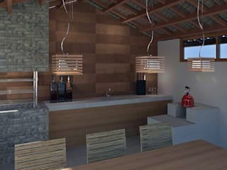 Modern Kitchen by Patrícia Alvarenga Modern