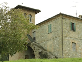 Wiejski ogród od Appennino Casa Wiejski