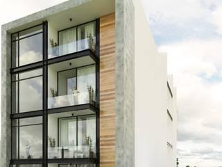 Departamentos TEPETATE Casas modernas de Taller Habitat Arquitectos Moderno