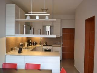 Cocina Contemporanea Cocinas modernas: Ideas, imágenes y decoración de Campbell-Arquitectura Moderno