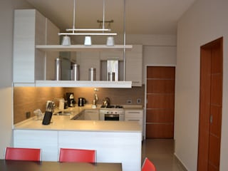 Cocina Contemporanea: Cocinas de estilo  por Campbell-Arquitectura