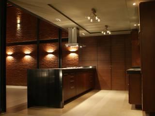 Santa María Dos Cocinas modernas de Taller Habitat Arquitectos Moderno