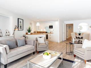 Salas de estar  por WN Interiors of Poole in Dorset