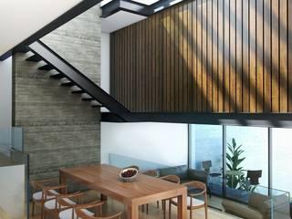 Comedores de estilo moderno de Taller Habitat Arquitectos Moderno