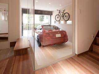 3と4のある家 オリジナルスタイルの 玄関&廊下&階段 の 有限会社タクト設計事務所 オリジナル