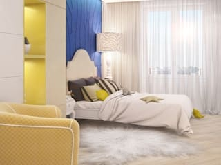 Eclectic style nursery/kids room by E_interior Eclectic
