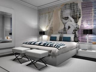 Modern style bedroom by AZD Diseño Interior Modern