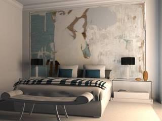 Modern Bedroom by AZD Diseño Interior Modern