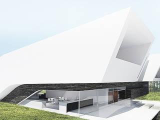 Dom jednorodzinny 2015 Nowoczesne domy od xystudio Nowoczesny
