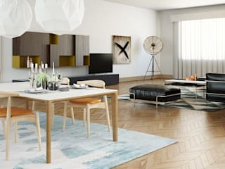 Livings modernos: Ideas, imágenes y decoración de olivia Sciuto Moderno