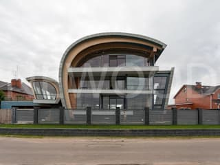 NEWOOD - Современные деревянные дома Eclectic style houses