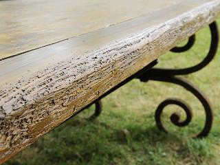 Table en fer forgé par Ateliers BdM Rustique