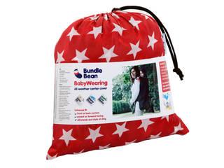 BundleBean wearing - Red / Teal:   by BundleBean Ltd