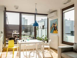 Pomysł na nowoczesne mieszkanie od Le Pukka Concept Store Nowoczesny