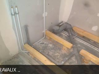 travaux en cour salle de bain:  de style  par AD2
