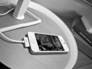 lampe de bureau avec chargeur smartphone par Nexel Solutions Eclairage Moderne