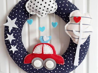 Arabalı Kapı Süsü Sesiber Çocuk OdasıAksesuarlar & Dekorasyon