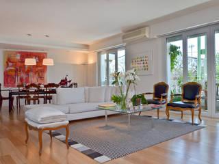 Salas modernas de GUTMAN+LEHRER ARQUITECTAS Moderno