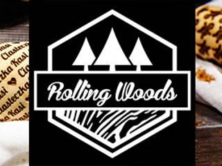 Twój dowolny napis - grawerowany wałek do ciasta: styl , w kategorii  zaprojektowany przez RollingWoods