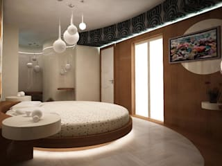 Villa teknogrup design Minimalist bedroom