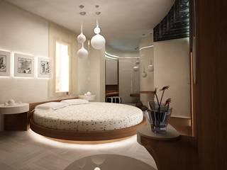 Villa teknogrup design Camera da letto minimalista