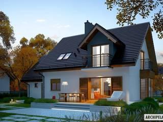 Projekt domu Marisa V G1 ENERGO Nowoczesne domy od Pracownia Projektowa ARCHIPELAG Nowoczesny