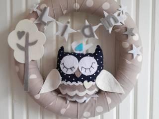 Tonton Baykuşlu Kapı Süsü Sesiber Çocuk OdasıAksesuarlar & Dekorasyon