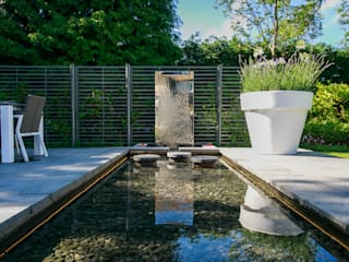 Pool Garden, Cheshire by Barnes Walker Ltd Сучасний