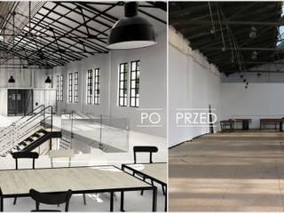 industrial por FOORMA Pracownia Architektury Wnętrz , Industrial