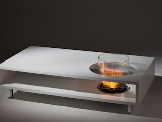 Designer Indoor and Outdoor Biofuel Fires Urban Icon SalonesMesas de centro y auxiliares