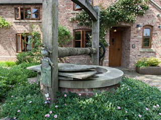 Cottage Garden, Cheshire by Barnes Walker Ltd Рустiк