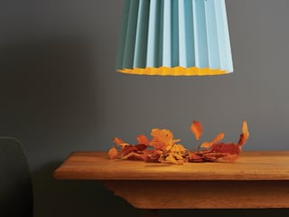 Brighton & Mr David Twin Tone Lampshade:   by Lane