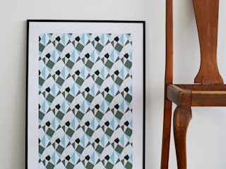 Ambre Hand Pulled Screen Print:   by Lane