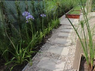 caminos entre verde Jardines modernos: Ideas, imágenes y decoración de BAIRES GREEN Moderno